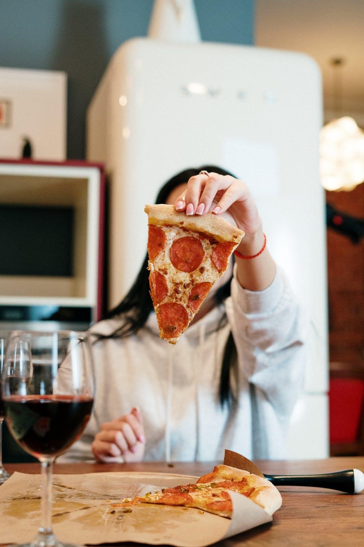 Wat drink je bij een pizza?